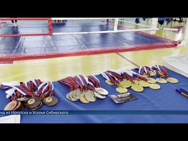Надежды тайского бокса в Ангарске