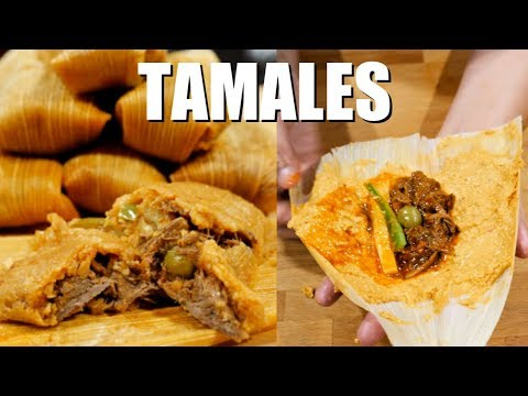 How to Make THE BEST AUTHENTIC MEXICAN HOMEMADE RED BEEF TAMALES