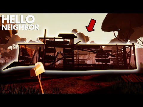The Neighbor's House BURNED DOWN!?!? | Hello Neighbor (Official Release) - Act 3