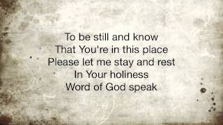Word of God Speak Kutless