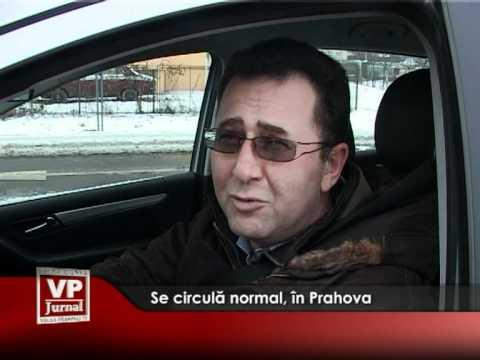 Se circulă normal, în Prahova
