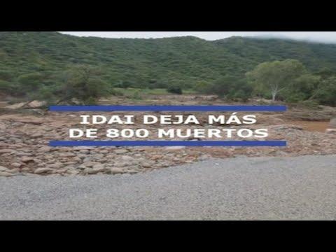 El ciclon Idai deja mas de 800 muertos