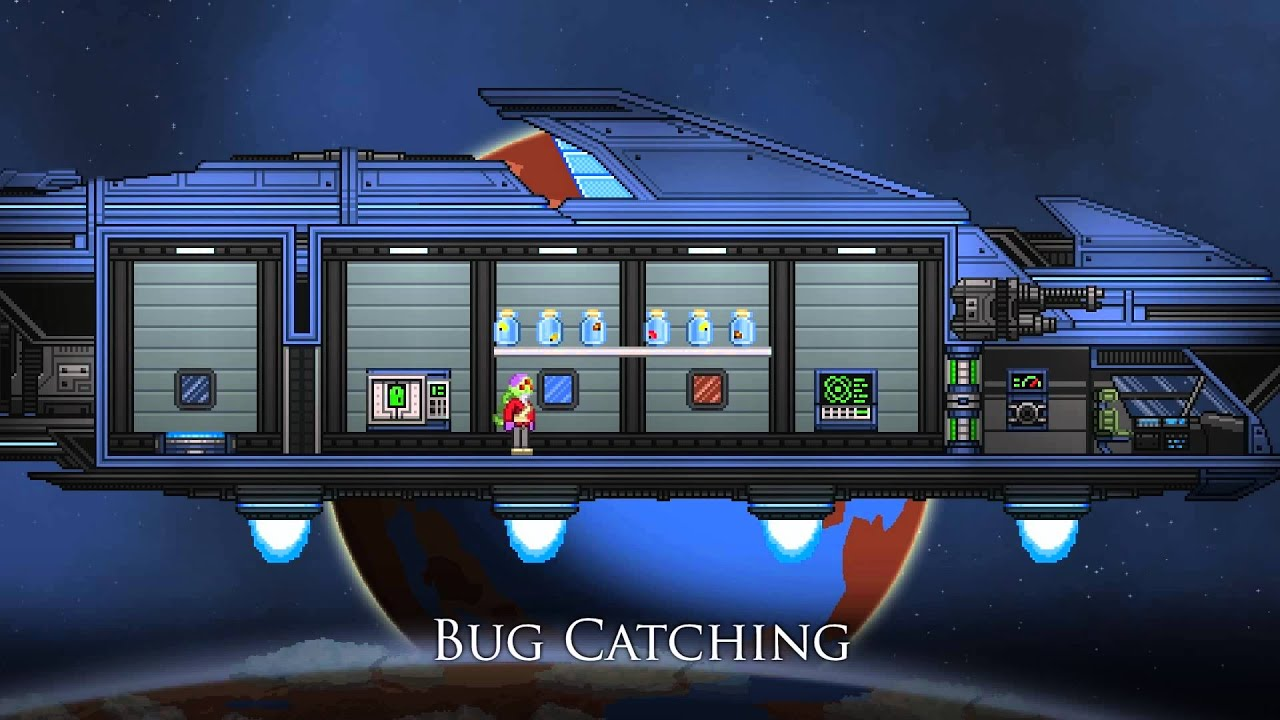 Oh, Hey, A Giant Monster In Starbound