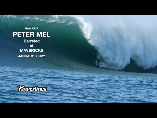 Peter Mel y la mejor ola de Mavericks