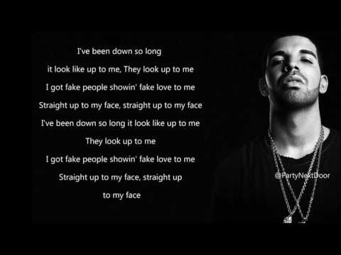 Drake - Fake Love (Lyrics) Mp3