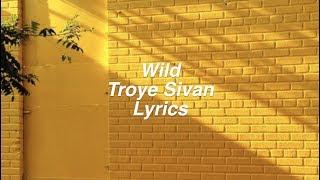 Wild || Troye Sivan Lyrics