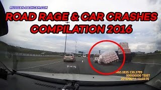 Road Rage & Car Crashes Compilation June 2016 (part 2)
