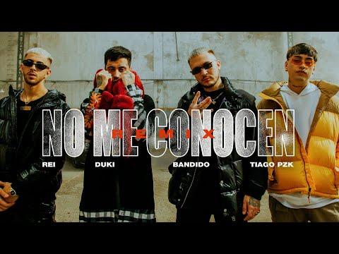 No Me Conocen (Remix)