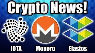 """Cryptocurrency NEEDS its Breakthrough"" | Bitcoin MOVING! | Plus Elastos, Monero, and IOTA News!"