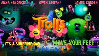 Anna Kendrick, Gwen Stefani, James Corden - Move Your Feet (TROLLS Original Soundtrack)