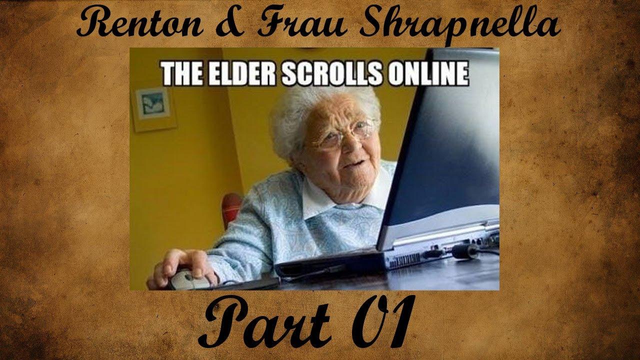 ESO: Morrowind – Part 01: Rumgewusel mit Frau Shrapnella