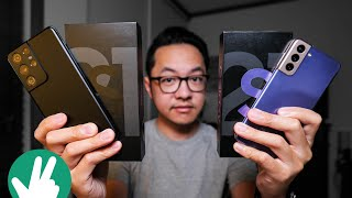 Samsung Galaxy S21 5G and Samsung Galaxy S21 Ultra 5G UNBOXING: Things are different