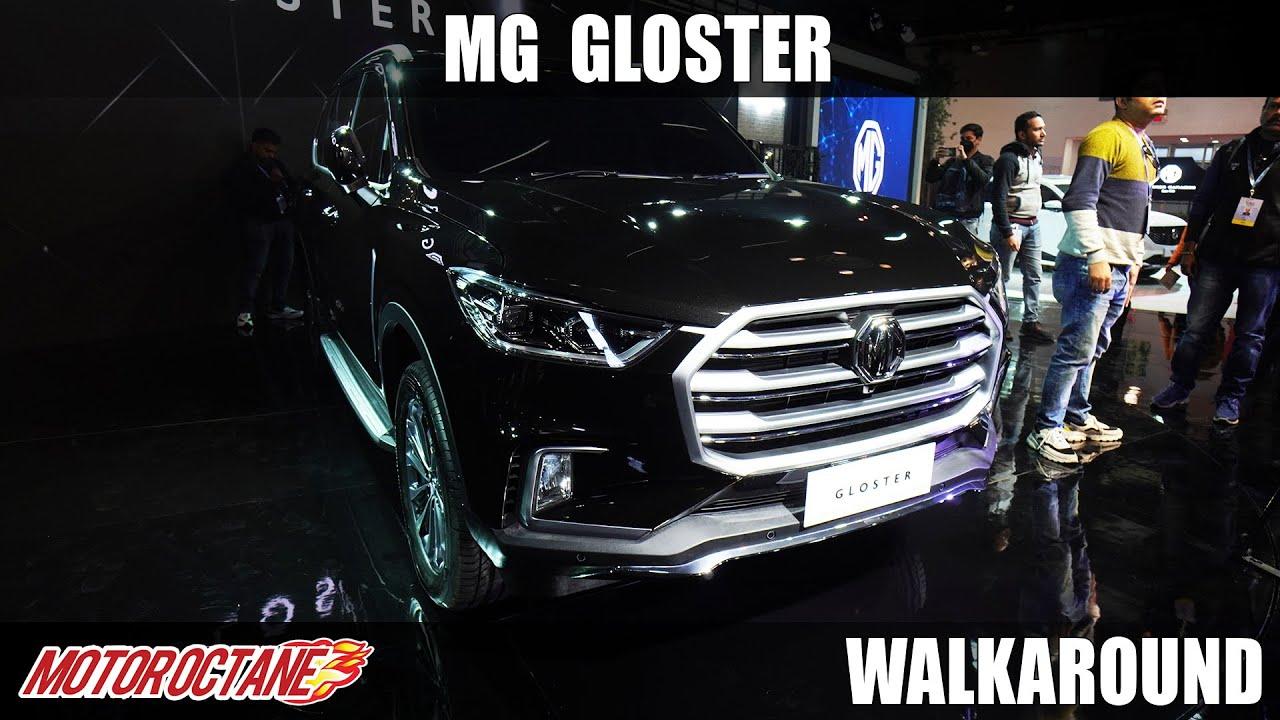 Motoroctane Youtube Video - MG Gloster - Fortuner Killer? | Auto Expo 2020 | Hindi | MotorOctane