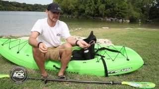 How To Attach The ACK Paddle Leash