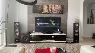 Yaqin MC-100C and Pioneer SC LX901 - Tube Amplifier and Surround Receiver equals AWESOME sound!