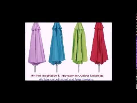 Video Specializes in Commercial Outdoor Umbrellas, Latest Restaurant Umbrellas, Large Restaurant Umbrellas