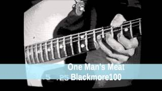 One Man's Meat - Blackmore100