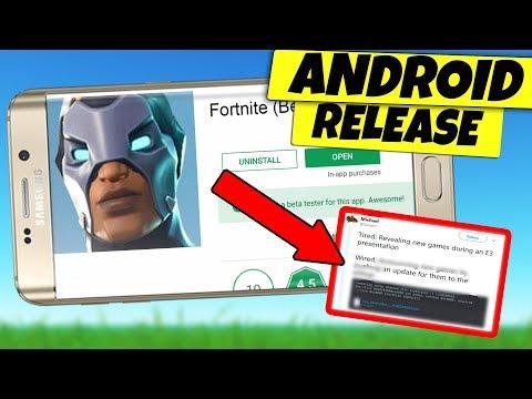 Fortnite Mobile ANDROID BETA Register BEFORE Release Date