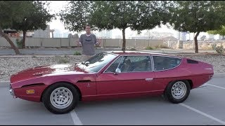 The Lamborghini Espada Is the Weirdest Lamborghini Ever Made