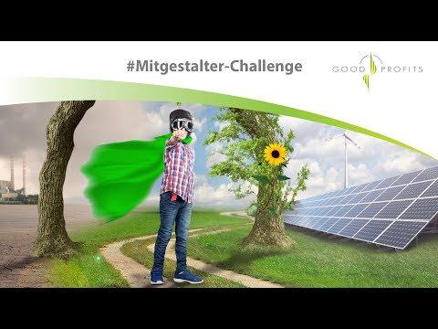 Sebastian Grothaus begrüßt die Anleger der Good Profits GmbH zur Mitgestalter-Challenge