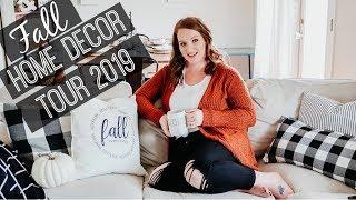 FALL HOME DECOR TOUR 2019 🍁🍂   FARMHOUSE HOME DECOR   HOME DECOR INSPIRATION