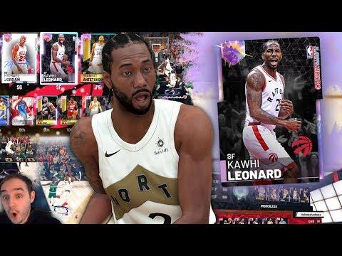 NBA 2K19 My Team GALAXY OPAL KAWHI LEONARD! OPAL STACKED SQUAD SHOWDOWN!!!