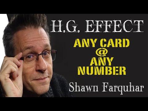 H.G. Effect -ACAAN- Shawn Farquhar