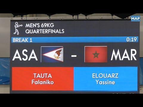 العرب اليوم - شاهد: تأهل 3 ملاكمين مغاربة إلى دور نصف النهائي