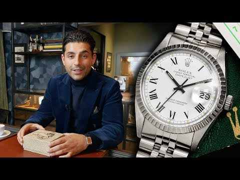 Unboxing & Review Rolex Datejust 16030 'Buckley Dial'