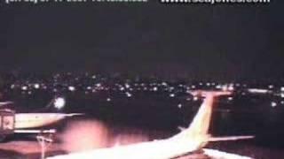 Vídeo mostrando o acidente da TAM em SP