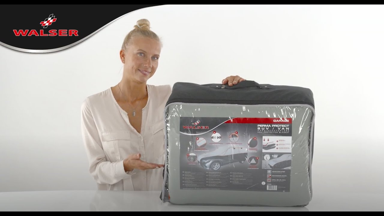 Preview: Car hail protection tarpaulin Premium Hybrid size XXL