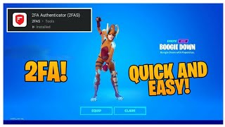 HOW to *EASILY* ENABLE 2-FACTOR AUTHENTICATION (2FA) for Fortnite! (All Platforms)