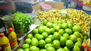 Green Fresh Masala GUAVA MAKHA | Kolkata Street Food India