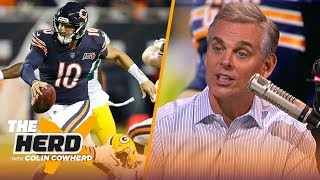 Bears are 'completely limited' by Trubisky, Colin predicts huge year from Packers D   NFL   THE HERD