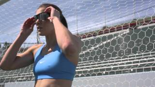 Hope Solo Training Session, Recovering With Hyperice.