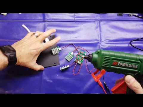 2nd fail in 2 videos, unusual use for a glue gun and a review of a very nice, cheap, Lidl glue gun!