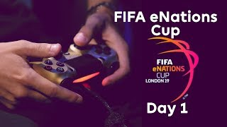LIVE! FIFA eNations Cup | Day 1, Group Stages