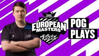 European Masters : les « Pog Plays » de la semaine - Summer Split