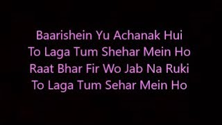 baarishein lyrics