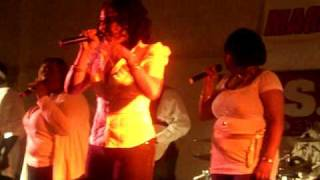 Christina (Crissy, Trina) Alfred Singing  Say Yes By Floetry