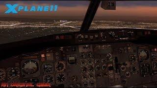 X-Plane 11: FlyJSim 737 200 Edinburgh to Manchester - Самые лучшие видео