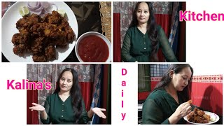 Chicken(EggIncluded)Pakoda Recipe🍖|Lockdown Cooking | Kalina's Daily Kitchen |Subscribe 2020