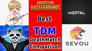 MORTAL vs PANDA vs ATHENA vs SEVOU TDM Comparison Video | PUBG TDM Best Moments by Best Players 2019