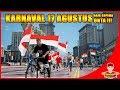 GTA V MOD INDONESIA (18) - IKUT KARNAVAL 17 AGUSTUS NAIK SEPEDA ONTA 😂😂