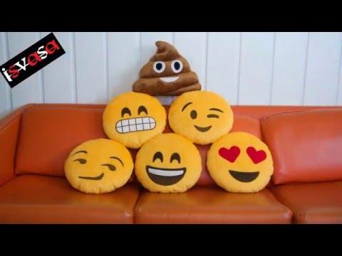 Whatsapp Emoji Kissen Pillow ! (2016)