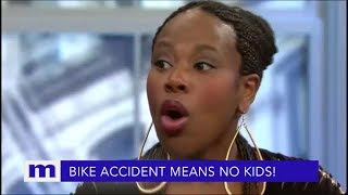 I can't have kids...You know I had a bicycle accident! | The Maury Show