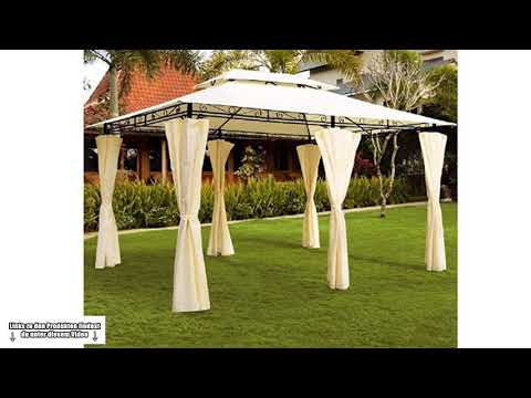 💎 LUXUS Pavillon kaufen  - Lohnt sich der Pavillon - Welchen Garten Pavillon kaufen - Ratgeber