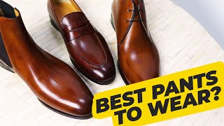 How To Wear Light Brown Shoes (Matching pants to cognac and tan leather) • Effortless Gent