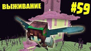 МАЙНКРАФТ ВЫЖИВАНИЕ #59 | ОТПРАВИЛИСЬ ЗА ЭЛИТРАМИ / ВАНИЛЬНОЕ ВЫЖИВАНИЕ В minecraft