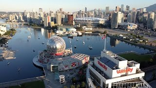 Vancouver, Canada - by drone ( Downtown )